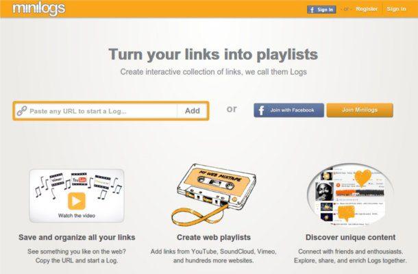 Crear un listado de canciones online