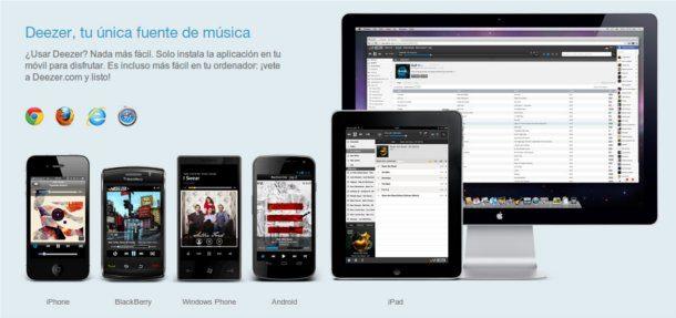 Escuchar música online