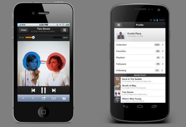 Grooveshark para moviles