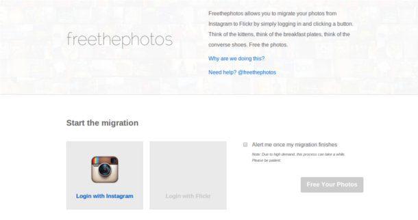 Exportar tus fotos de instagram