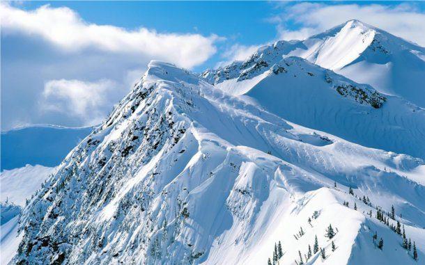 Monte en invierno