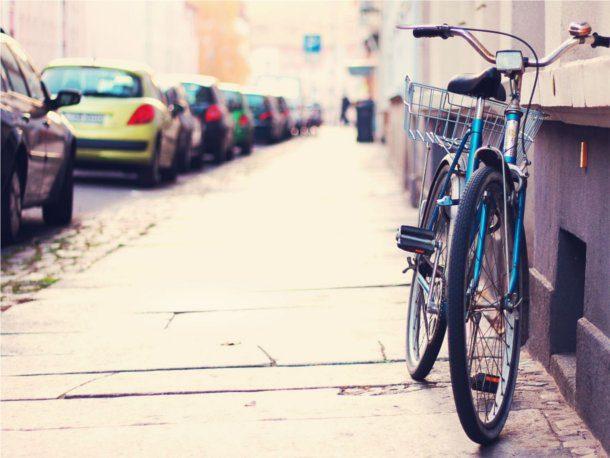 Bicicleta antigua en europa
