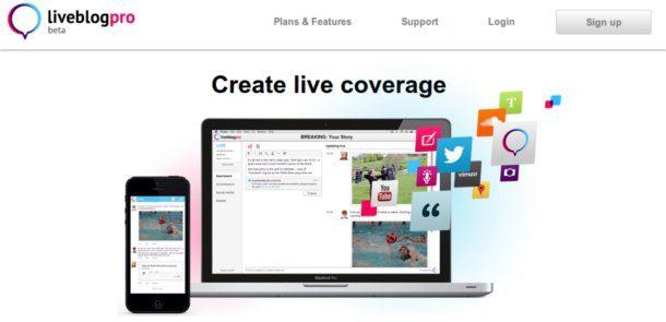 Liveblog pro