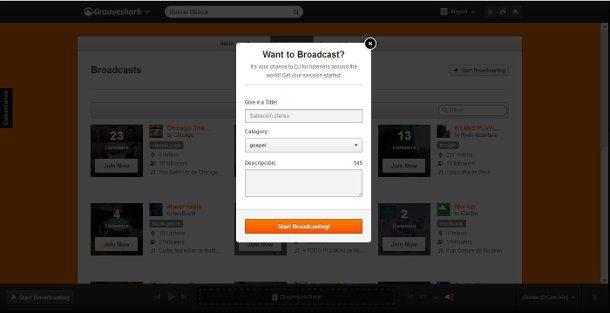 Crear una estación de radio online