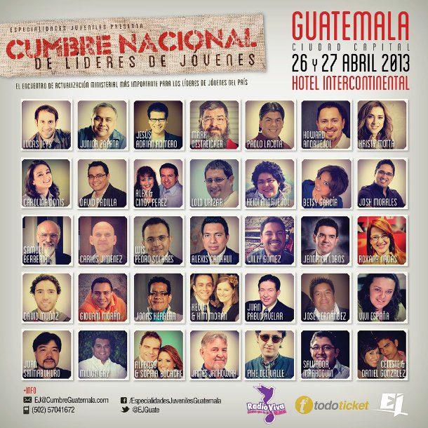 Cumbre nacional de líderes de jóvenes