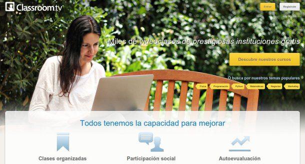 Cursos online Classroom TV