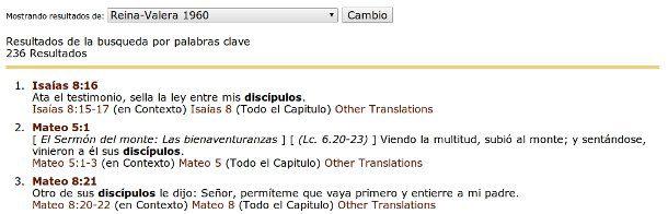 Concordancia Bible Gateway.