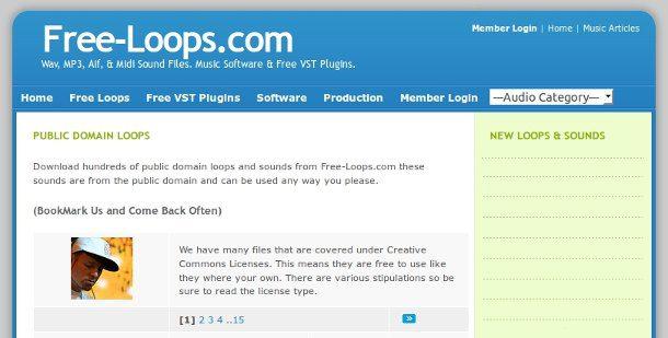 Free loops