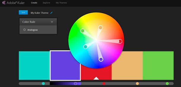 Crear una paleta de colores