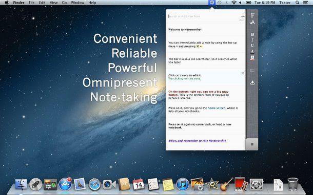 Realizar anotaciones en mac os