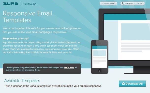 crear correos electrónicos con responsive