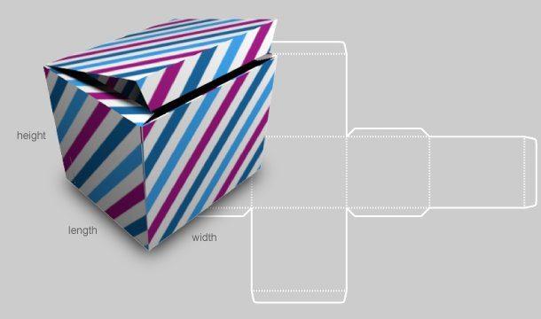 hacer una caja de regalo