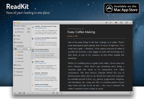 lector de feed para mac