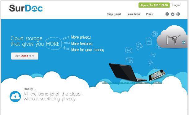 Almacenamiento de datos en la nube