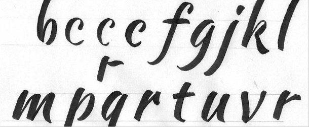 Tipos de letras para carteles
