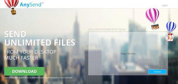 enviar archivos de gran tamaño
