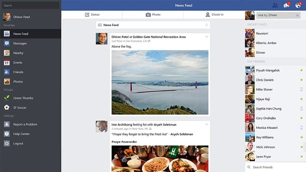 app oficial de facebooko para windows 8 1