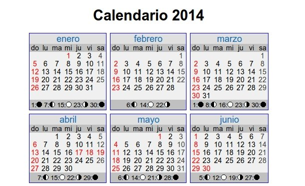 calendario de dias festivos para imprimir