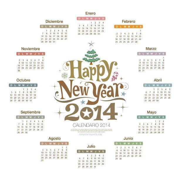 calendario 2014 en HD