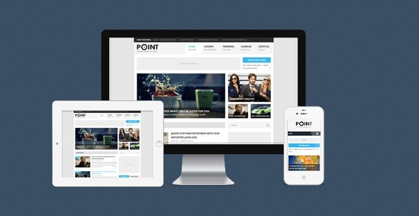 Point theme para wordpress