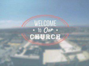 bienvenidos a la iglesia