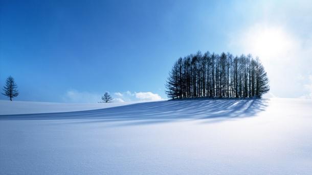 fondo cielo despejado invierno