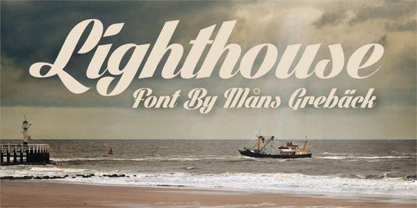 Fuentes gratuitas - Lighthouse