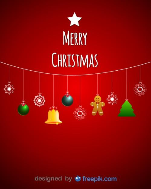 vector de navidad de merry christmas