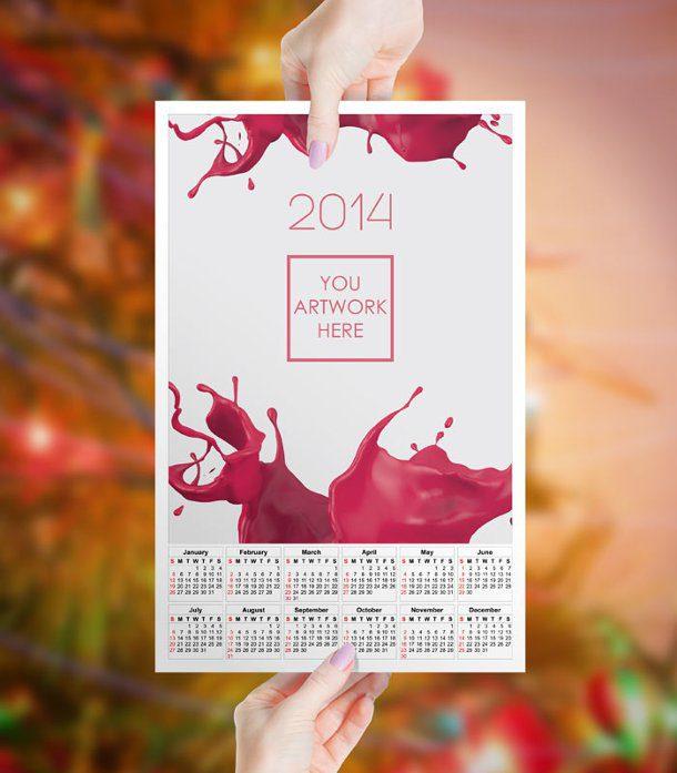 calendario 2014 viñedo