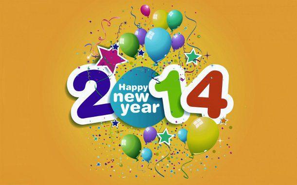 ευτυχισμένο το νέο έτος 2014