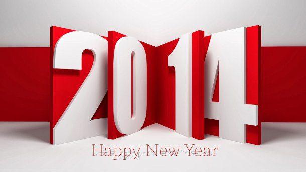 heureuse nouvelle année 2014