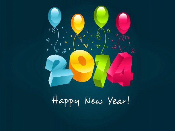 Šťastný Nový Rok 2014