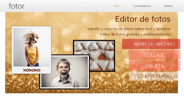 fotor editor de fotos en línea
