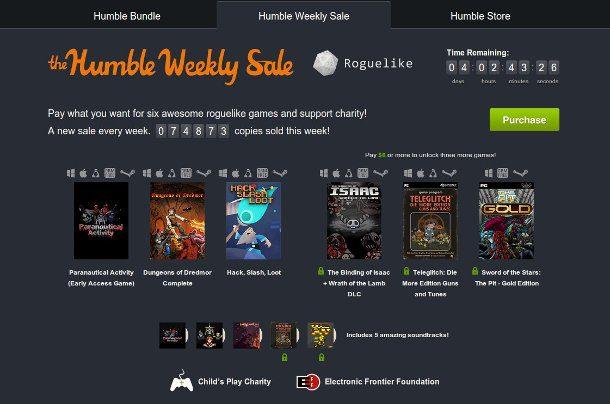 humble bundle videojuegos