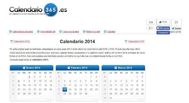 calendario 2014 general
