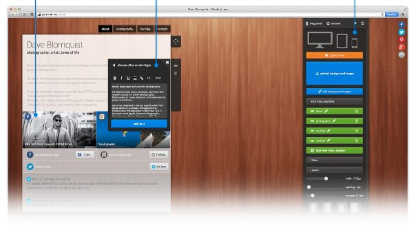 crear un sitio web personal pixelhub