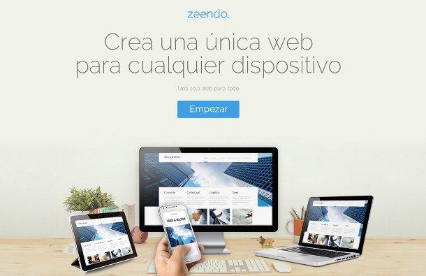 Crear una página web sin saber programar