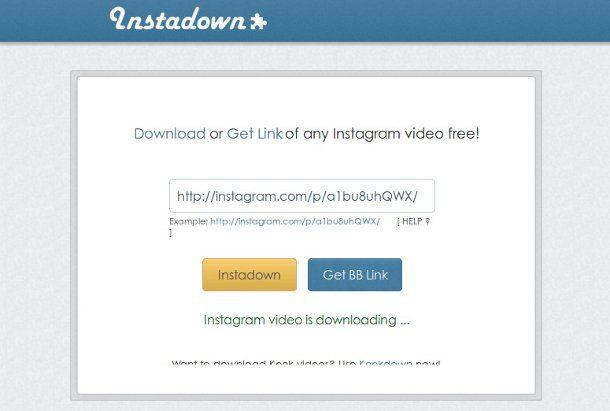 instadown descargar videos instagram gratis