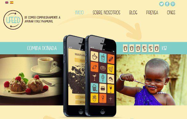 UFeed una aplicación para enfrentar el hambre en el mundo