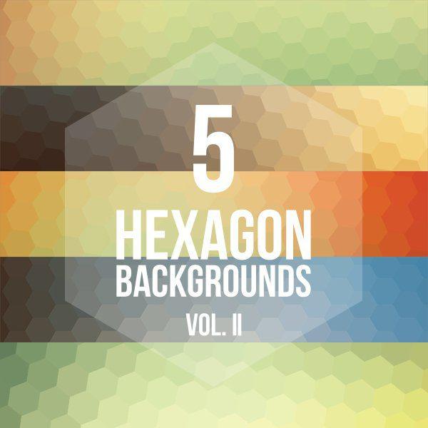 fondos de hexagonos gratis