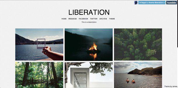Temas gratis para Tumblr