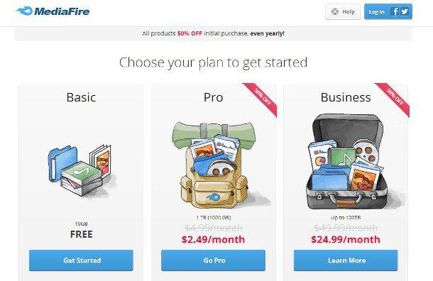 MediaFire 1TB de alojamiento a bajo precio