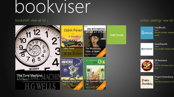 bookviser lector ebooks windows 8