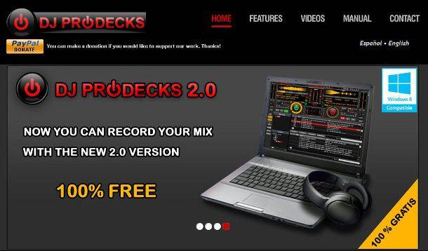 DJ Pprodecks - mezclar música en tiempo real