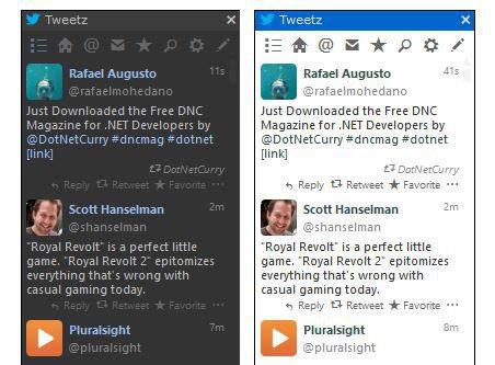 Tweetz Desktop cliente twitter