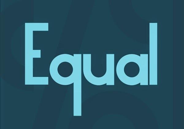 Equal font