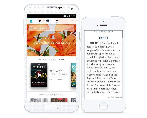 oyster leer libros desde smartphone