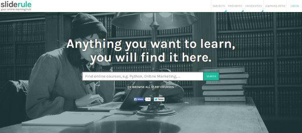 Buscador de cursos en línea