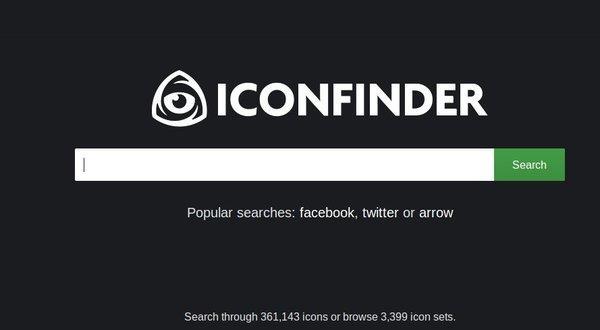 descargar iconos para sitios web