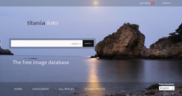 galería de fotos en línea